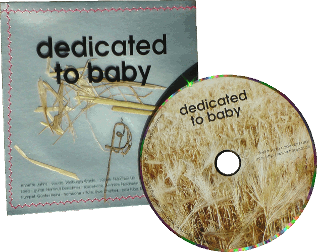 "CD ""dedicated to baby"""